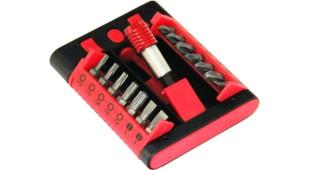 Coffret de 14 embouts + 1 porte-outil magnétique